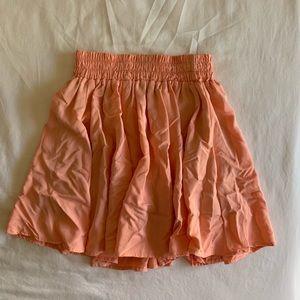 Dresses & Skirts - ORANGE CREAM/CORAL SKATER SKIRT